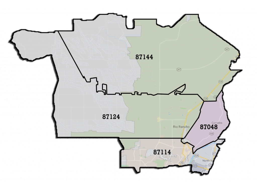 Map of Westside delivery zip codes for Everest Cannabis Co.