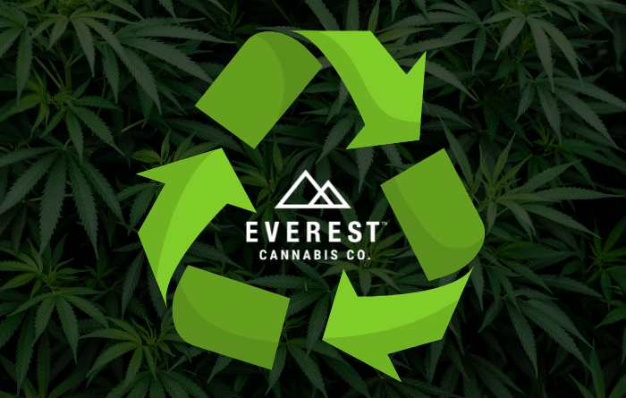 Recycling program at Everest Cannabis Co.
